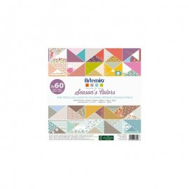 Set de Scrapbooking Season's Colors Artemio 180 hojas 30x30cm