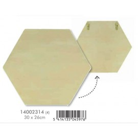 Placa hexagonal artemio