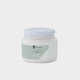 White Cotton Chalk Paint La Pajarita